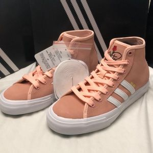 Adidas Matchcourt High RX Na-Kel ROSE Coral sz.5.5